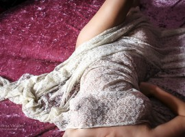 Ensaio sensual, foto Thelma Vidales